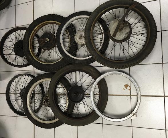 A selection of wheels  ((Qty))