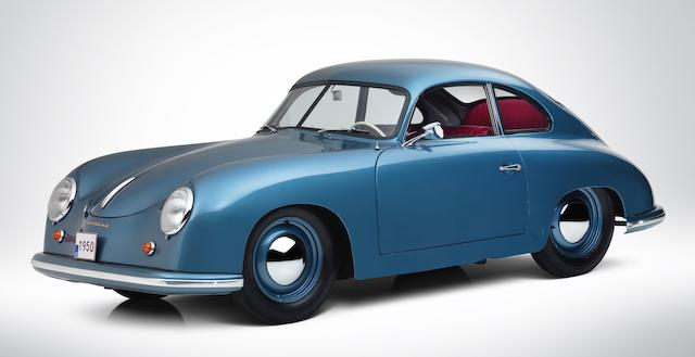 1950 Porsche 356 Split-Window 'Four-Digit' Coupé Chassis no. 5310