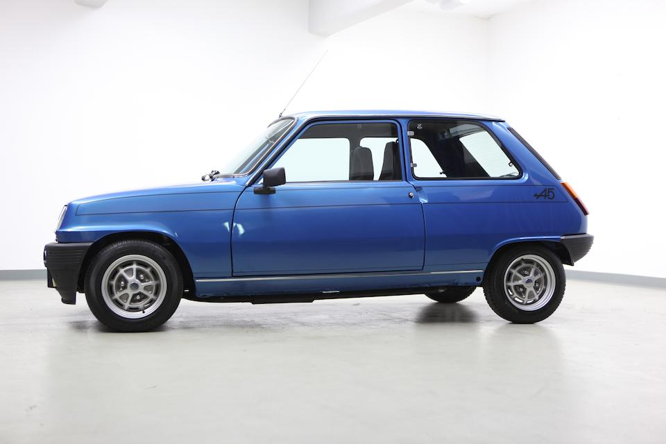 1978 Renault 5 Alpine   Chassis no. R1223/7637319