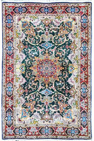 An Agra rug 97 x 146xm