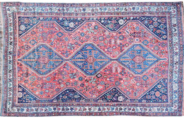 A Qashqai rug South Persia 229cm x 316cm