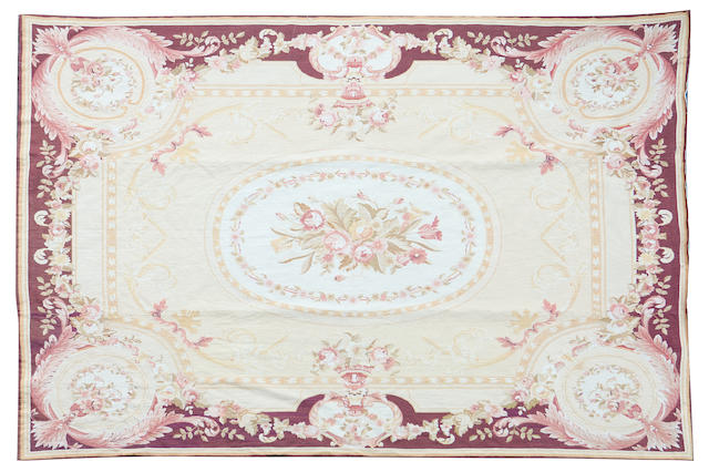 An Aubosson style wall hanging