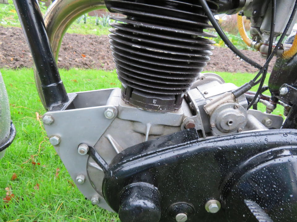 Ex-Tom Arter,c.1936 AJS Model 38-7 Grass-track Racing Motorcycle Frame no. 7-856 Engine no. none visible