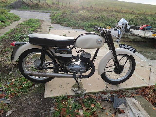 c.1968 BSA 172cc D7 Bantam Super Frame no. D7 18865 Engine no. D14B 11950
