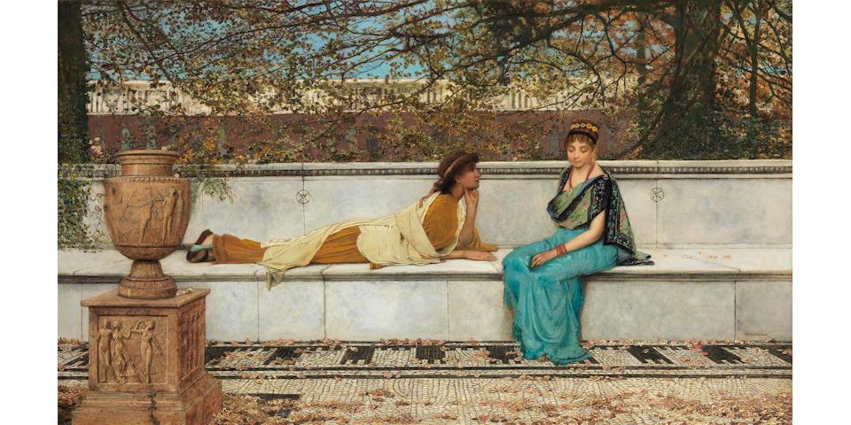 John Atkinson Grimshaw (British, 1836-1893) Two Thousand Years Ago