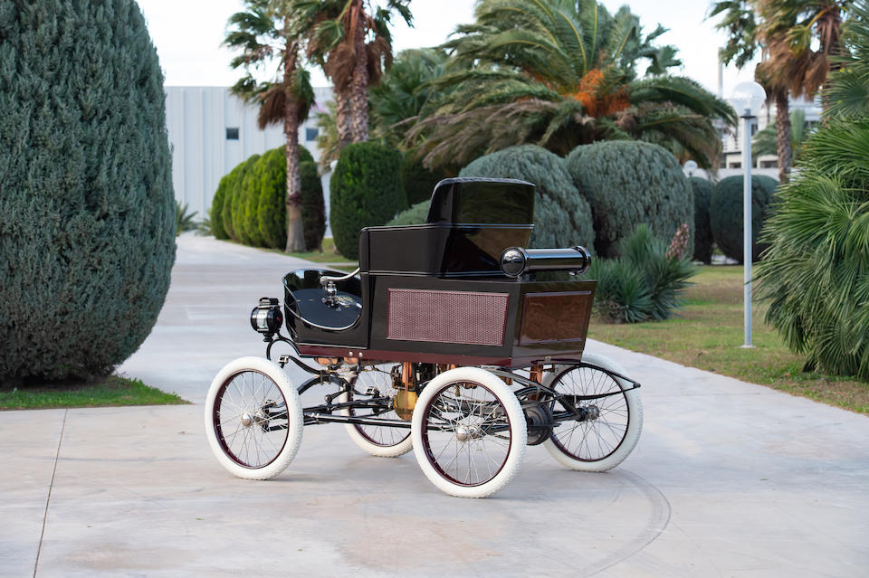 1901 Toledo Model A Steam Runabout  Chassis no. XXXVI