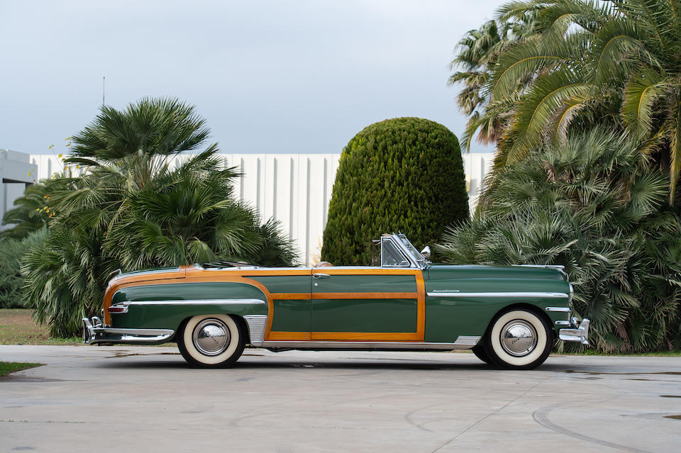 1949 Chrysler New Yorker 'Town & Country' Convertible  Chassis no. 7410581