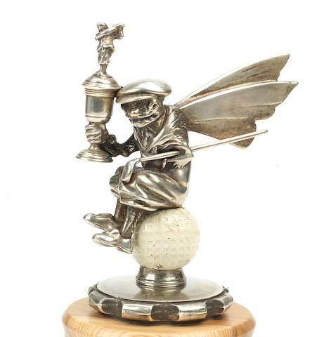 MASCOTTE « GOLFEUR AILE » ANNEES 1920,