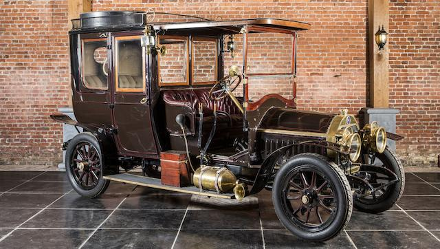 From the Jacques Vander Stappen Collection ,1912 FN Type 2400 Open Drive Limousine  Chassis no. 323 Engine no. 323
