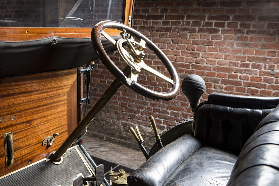 From the Jacques Vander Stappen Collection ,1912 Berliet Type AM 15HP Brougham de Ville  Chassis no. 8112 Engine no. 8112