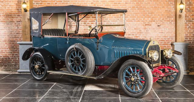 From the Jacques Vander Stappen Collection ,1913 FN Type 2700 Tourer  Chassis no. 637 Engine no. 637