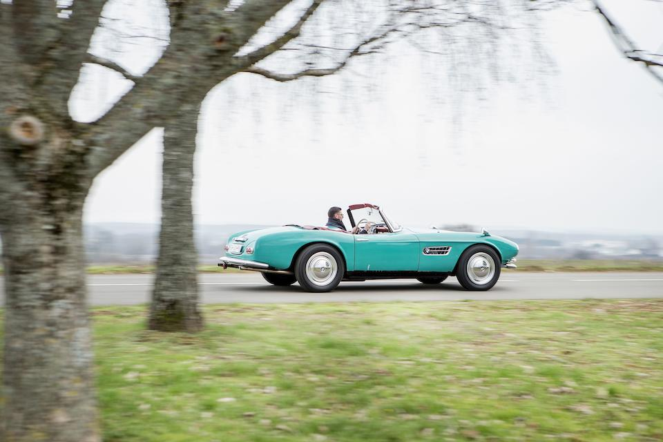1957 BMW 507 3.2-Litre Series I Roadster with Hardtop  Chassis no. 70044