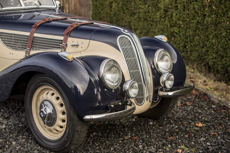 1939 BMW 327/328 Sports Cabriolet  Chassis no. 74626