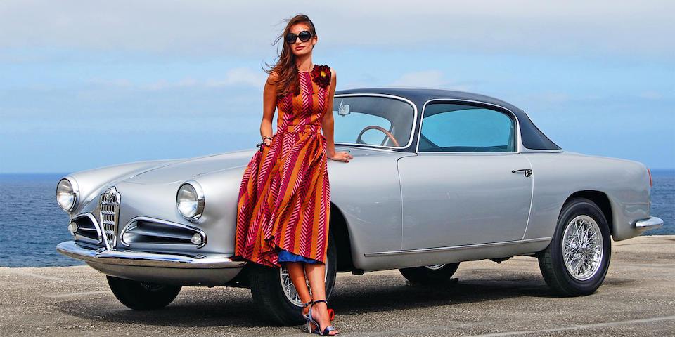 Concours restored, Mille Miglia eligible,1957 Alfa Romeo  1900C Super Sprint CSS 3-window Coupé  Chassis no. AR1900C 10476