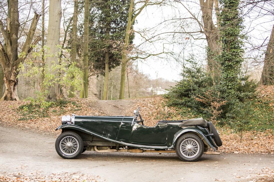 1934 Lagonda  M45 T7 Tourer  Chassis no. Z10646