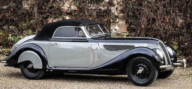 1939 BMW 327/328 Sports Cabriolet Chassis no. 74356