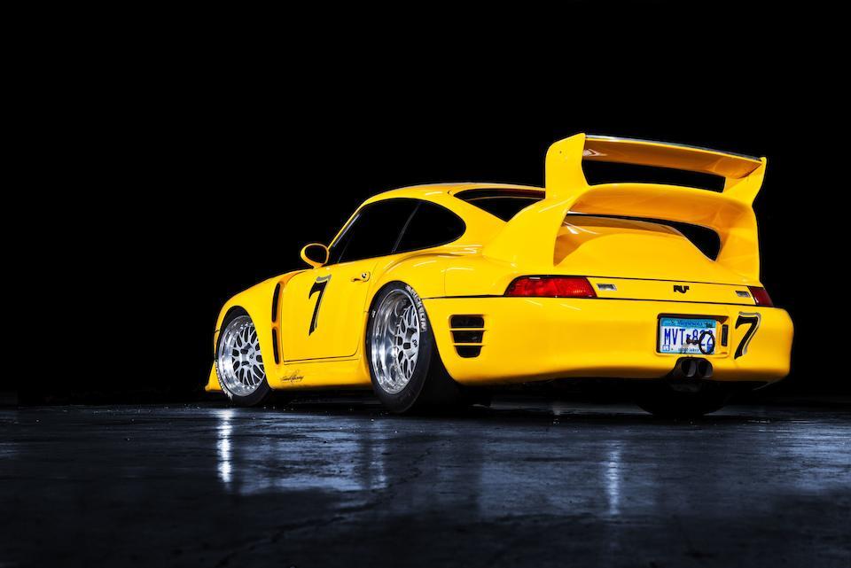 Ex-Steve Beddor; Pikes Peak International Hill Climb Open Class 2nd Place Finisher,1997 Ruf Porsche  CTR2 Sport Prototype  Chassis no. W09BC0364VPR06011