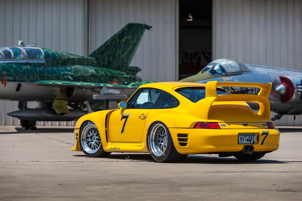 Ex-Steve Beddor; Pikes Peak International Hill Climb Open Class 2nd Place Finisher,1997 Ruf Porsche  CTR2 Sport Prototype  Chassis no. W09BC0364VPR06011