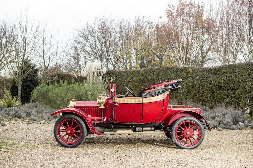 1911 De Dion Bouton Type CR Cabriolet  Chassis no. 156 Engine no. 7481C