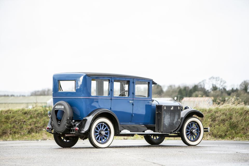 1922 Hudson Super Six Tourer  Chassis no. SAJP65FCT