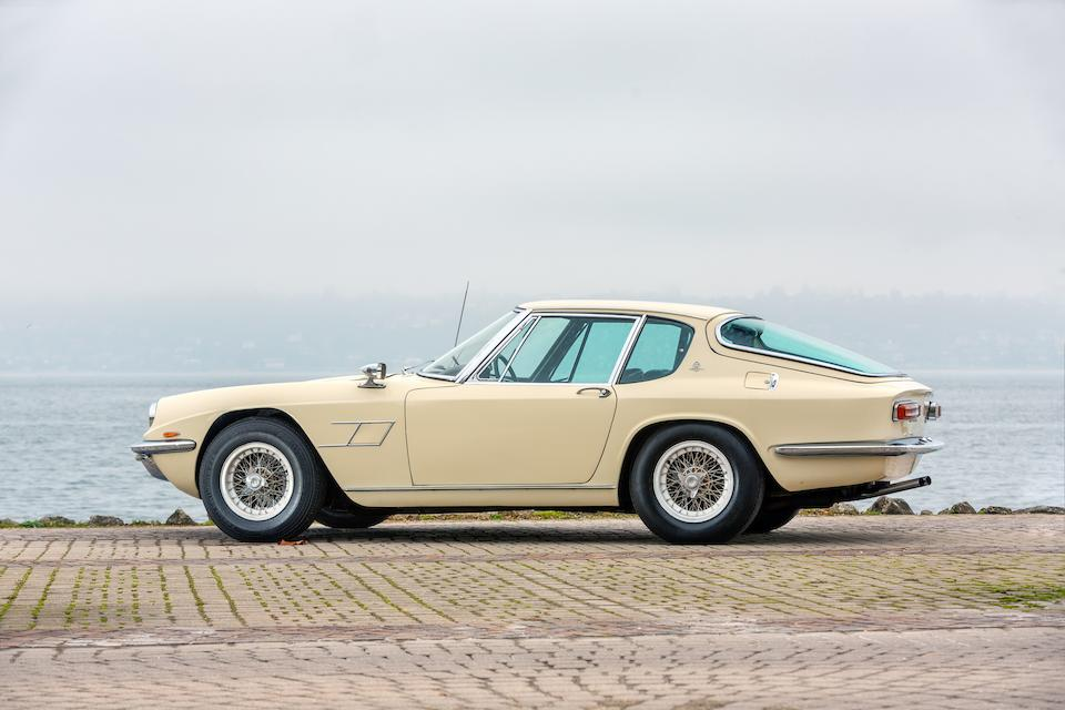 1967 Maserati Mistral 4000 Coupé  Chassis no. AM 109/A1*1172*