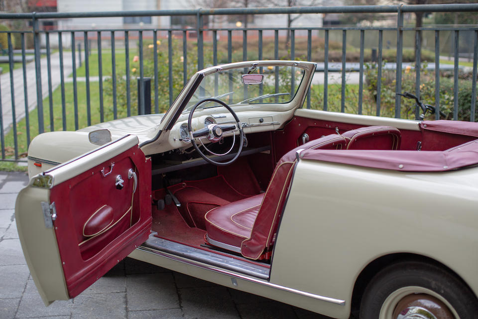 1954 FIAT 1100-103 Derby Convertible  Chassis no. 060683