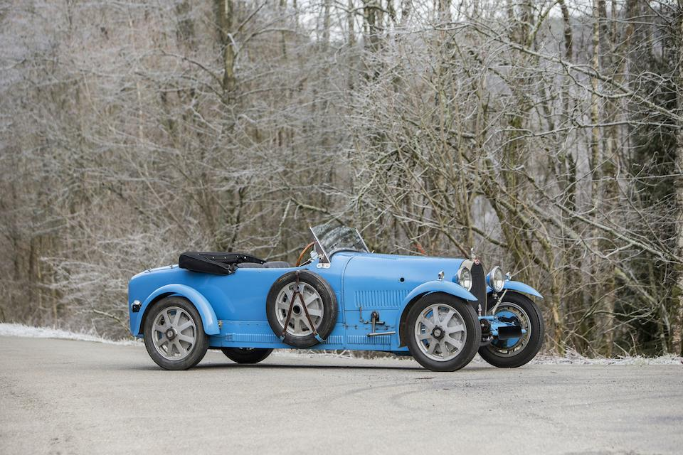 First owned by Crown Prince Leopold of Belgium,1928 Bugatti Type 43 Grand Sport Tourer  Chassis no. 43258 (43291 - see text) Engine no. 132