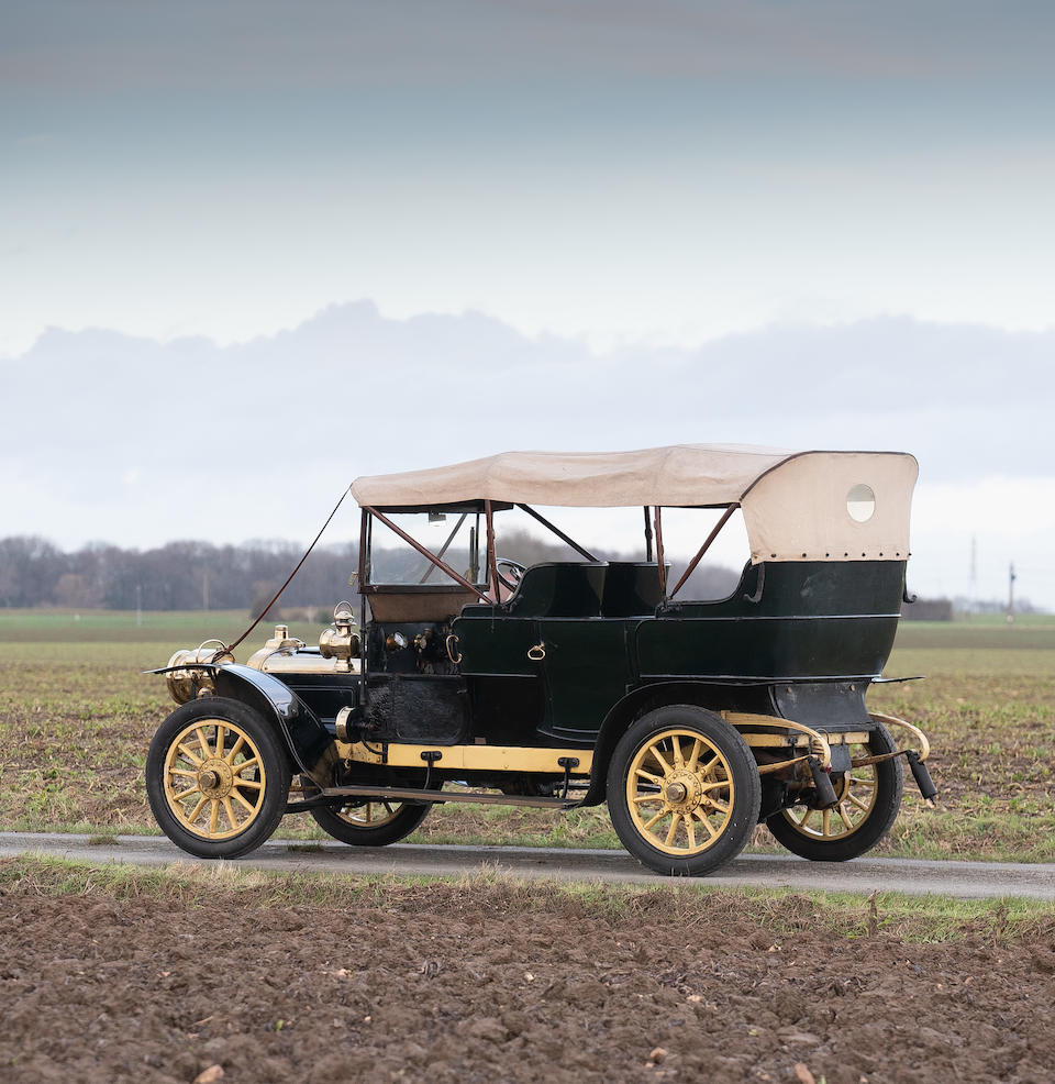 1908 Clement-Bayard AC4I Tourer  Chassis no. 8706