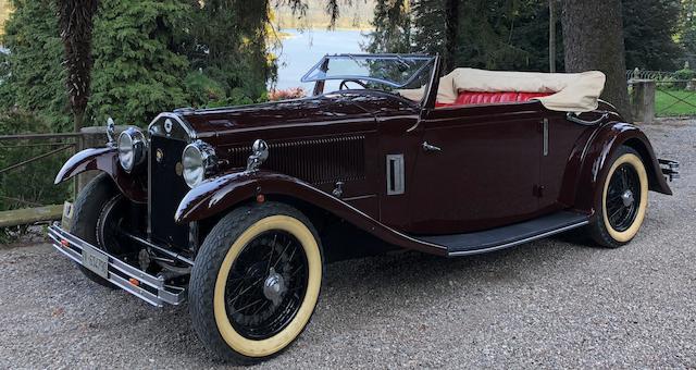 1930 Lancia Dilambda Drophead Coupé  Chassis no. 27-611
