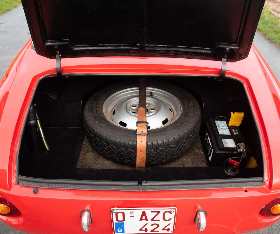 1962 OSCA 1600 GT2 Coupé  Chassis no. 00103