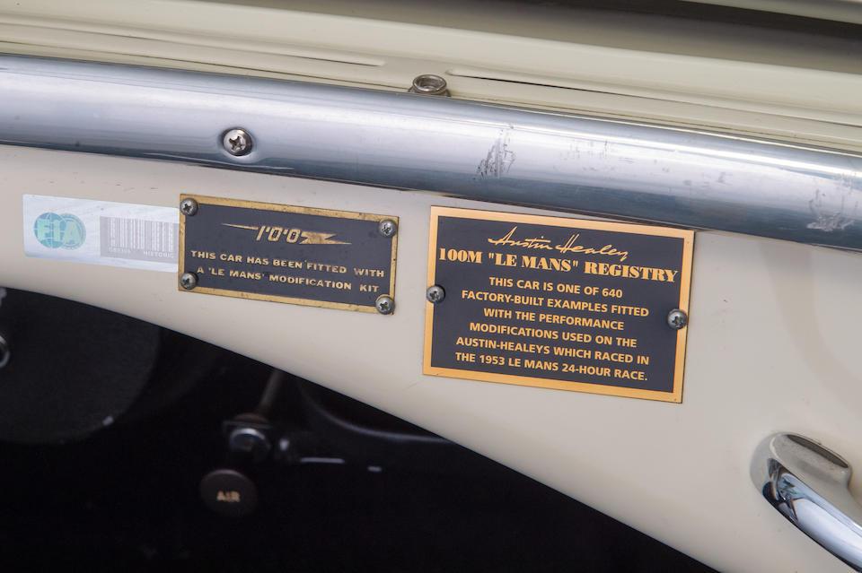 1956 Austin-Healey  100M 'Le Mans' Roadster  Chassis no. BN2-L/230739