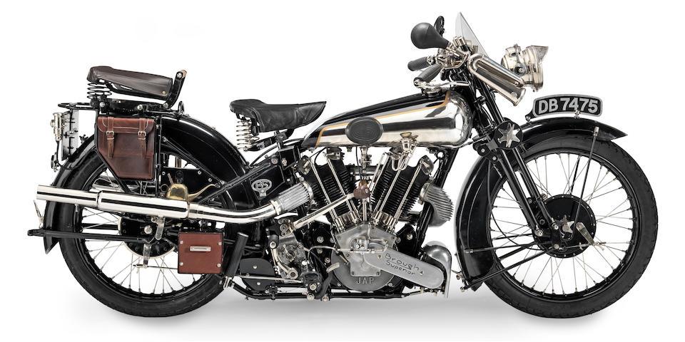 1926 Brough Superior 986cc SS100 Alpine Grand Sports Frame no. 875A Engine no. KTOR/A 42152