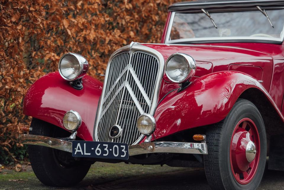 1937 Citroën Type 7C 'Traction' Cabriolet  Chassis no. 96143