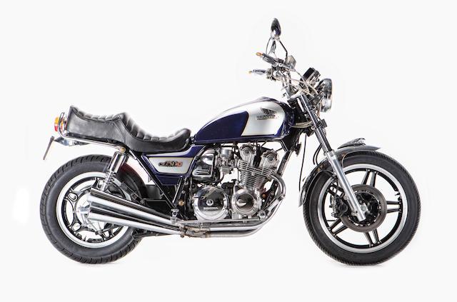 c.1981 Honda CB750C Custom Frame no. RC06-2005415 Engine no. RC01E-2221942