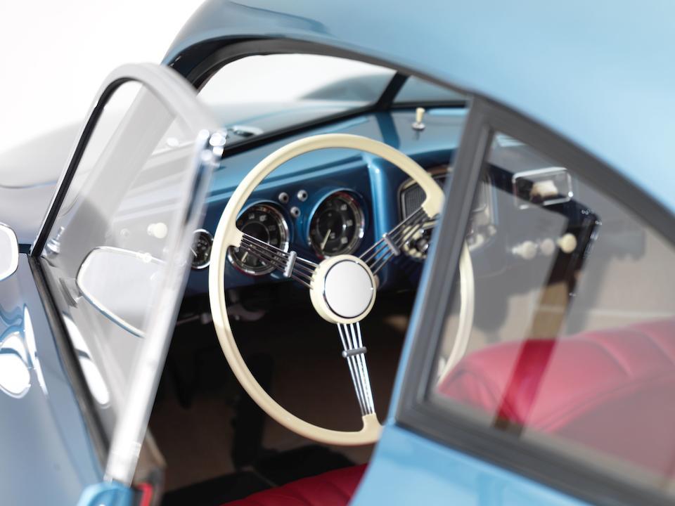 1950 Porsche  356 Split-Window 'Four-Digit' Coupé  Chassis no. 5310