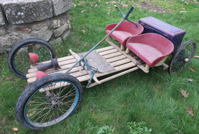 1924 Red Bug  Microcar Project  Chassis no. 1660