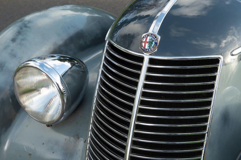 1937 Alfa Romeo  6C-2300 Berlina by Stabilimenti Farina  Chassis no. 814023 Engine no. 823073