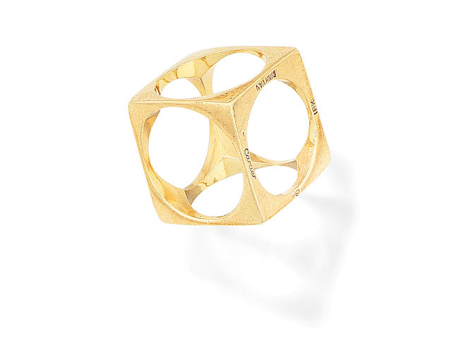A ring, by Dinh Van for Cartier, circa 1965
