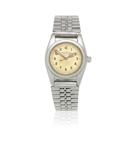 Rolex. A stainless steel manual wind bracelet watch  Oyster Royal, Ref: 2765, Circa 1940