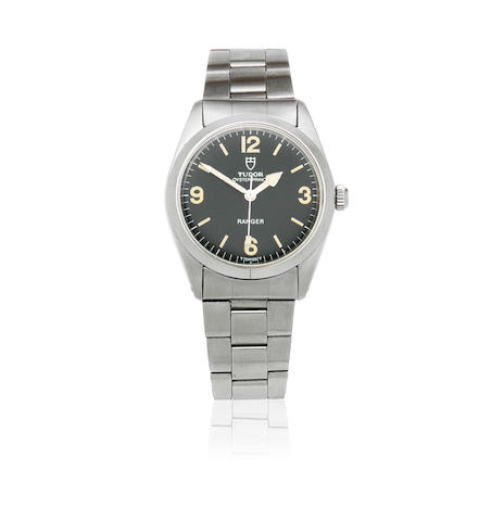 Tudor. A stainless steel automatic bracelet watch  Oyster Prince Ranger, Ref: 90200, Circa 1970
