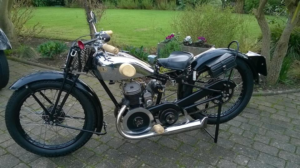 1929 Levis 247cc '6 Port' Frame no. 20593 Engine no. 24817