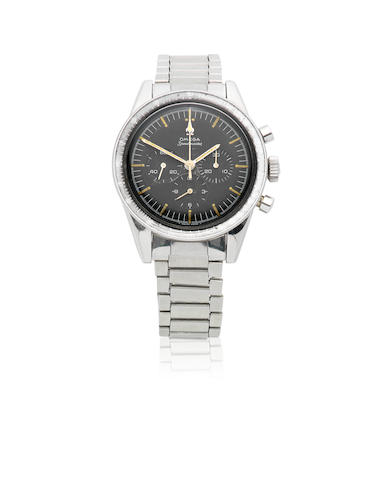 Omega. A stainless steel manual wind chronograph bracelet watch  Speedmaster 'Ed White', Ref: ST 105.003-65, Circa 1966