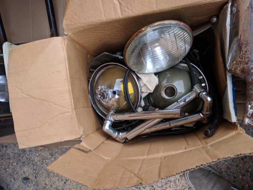 Property of a deceased's estate, 1983 Laverda 497cc Alpino Project Frame no. LAV500 3101 Engine no. 3101