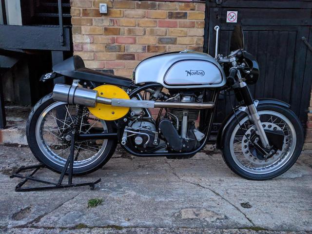 Property of a deceased's estate, c.1993 Norton 500cc Manx Replica by Bernie Allen Frame no. 11M BRA5 Engine no. 11M BRA5