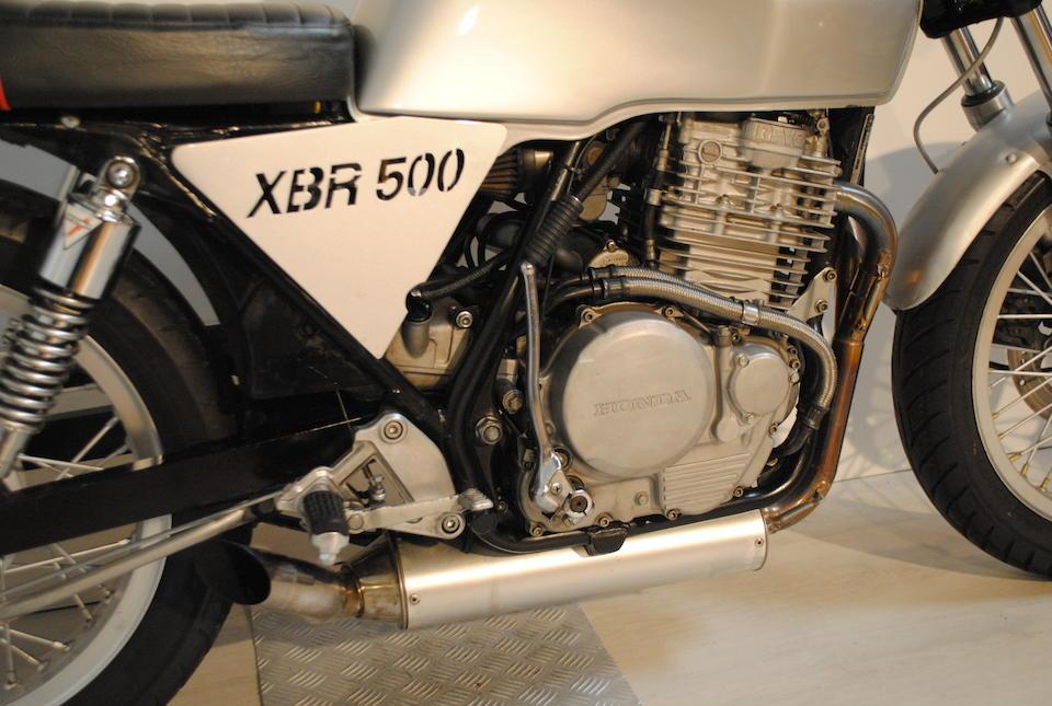 1988 Honda 600cc XBR500 Frame no. PC15-5001150 Engine no. PC15E-5000952