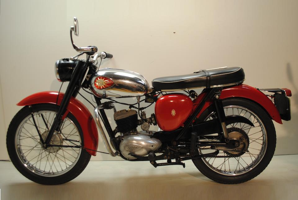 1965 BSA 172cc D7 Bantam Super Frame no. D7 43484 Engine no. FD7 8749