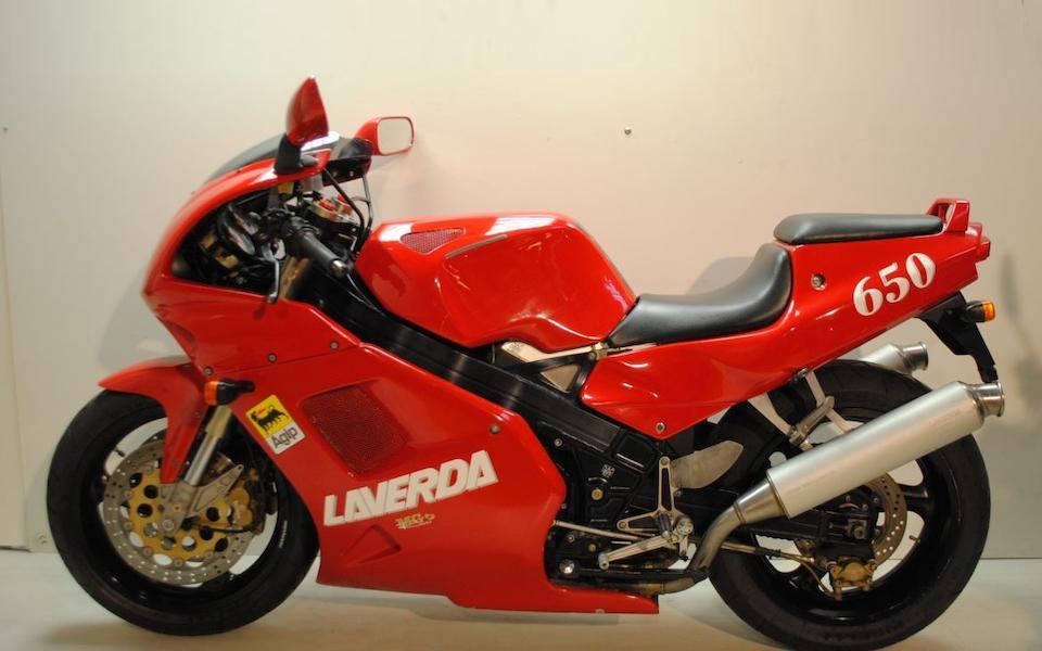 1994 Laverda 668cc 650 Sport Frame no. ZLV650SP 100001052 Engine no. 1022