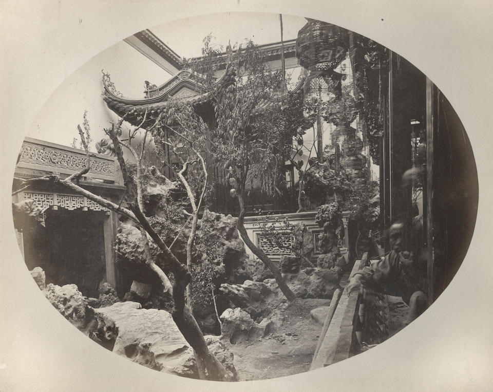 CHINA DUDGEON (JOHN, attributed to) An album of views in Beijing (including Imperial Palaces) and locations in Zhenjiang Province, [c.1868-1872]