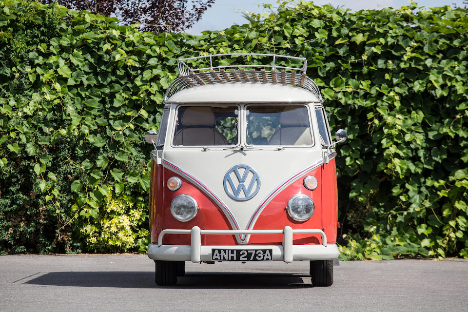 Bonhams : 1963 Volkswagen Type 2 'Split Screen' Camper Van