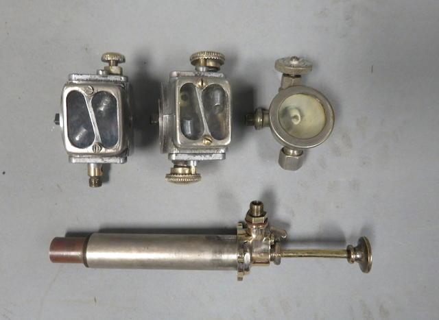 Two Pilgrim oil Pumps  ((2))